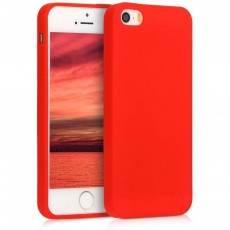 Iphone 5 Red Jelly Trasparent
