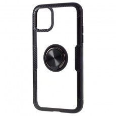 Iphone 11 Pro Carbon Clear Ring Black