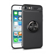 Iphone 7/8 Carbon Clear Ring Black