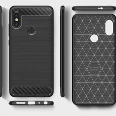Xiaomi Redmi Note 5 Black Jelly Case Carbon