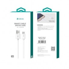 USB Kaabel Micro Devia White