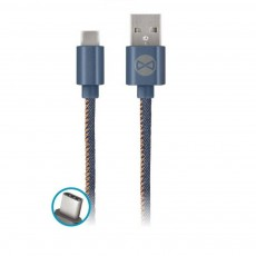 Usb Kaabel Iphone Jeans 1m 2A Forever