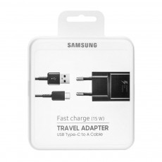 Original Wall Charger Samsung Galaxy Fast Charge (EP-TA20EBE+DG950CBE) 2A MicroUSB typ C