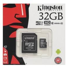 Kingston microSDHC 32GB Canvas Select UHS-I + SD Adapter