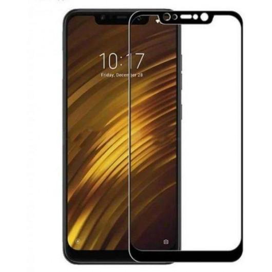 Xiaomi Pocophone F1 5D Black Kaitseklaas